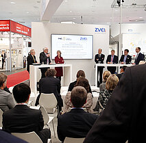 "ZVEI - Hannover Messe 2018, Joint Event ZVEI und FME ""European & Global Digital Challenges: What are our priorities and how can we succeed?"""