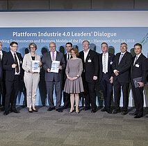 ZVEI - Hannover Messe 2018, Plattform I40: Leaders Dialogue der Plattform I40.