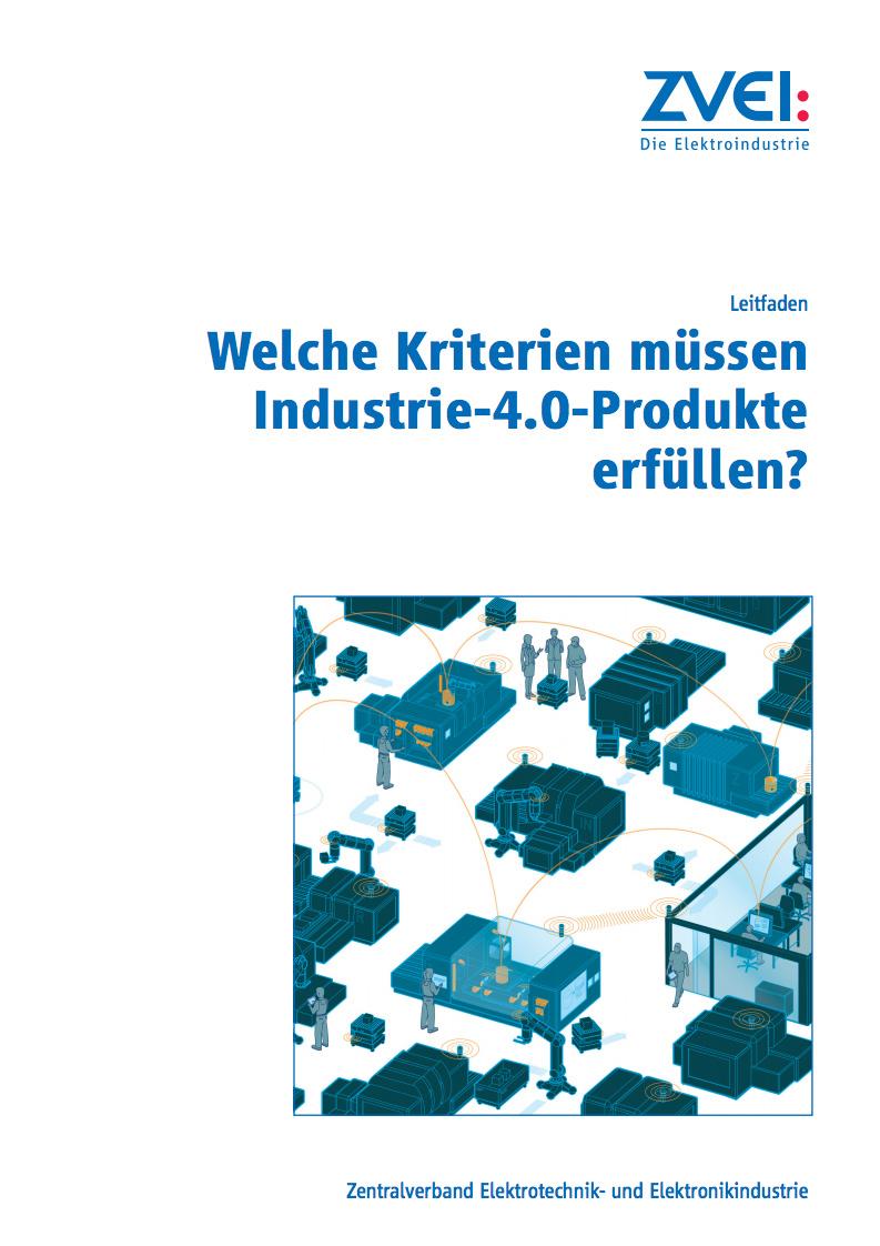 Welche Kriterien müssen Industrie-4.0-Produkte erfüllen?