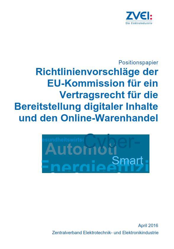 Vertragsrecht Für Die Bereitstellung Digitaler Inhalte Und Den