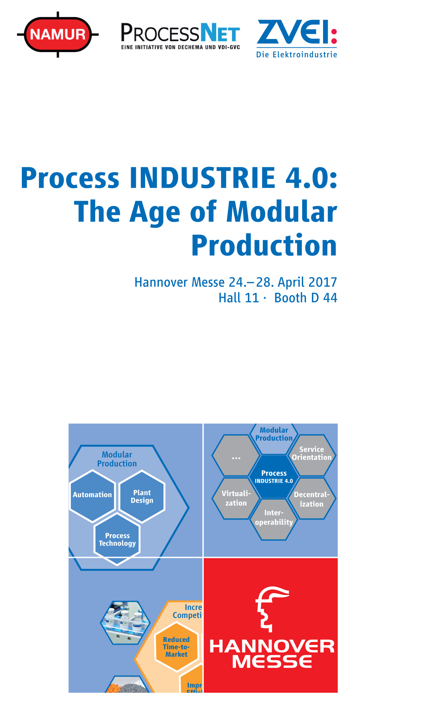 Process Industrie 4.0: The Age of Modular Production (Hannover Fair ...