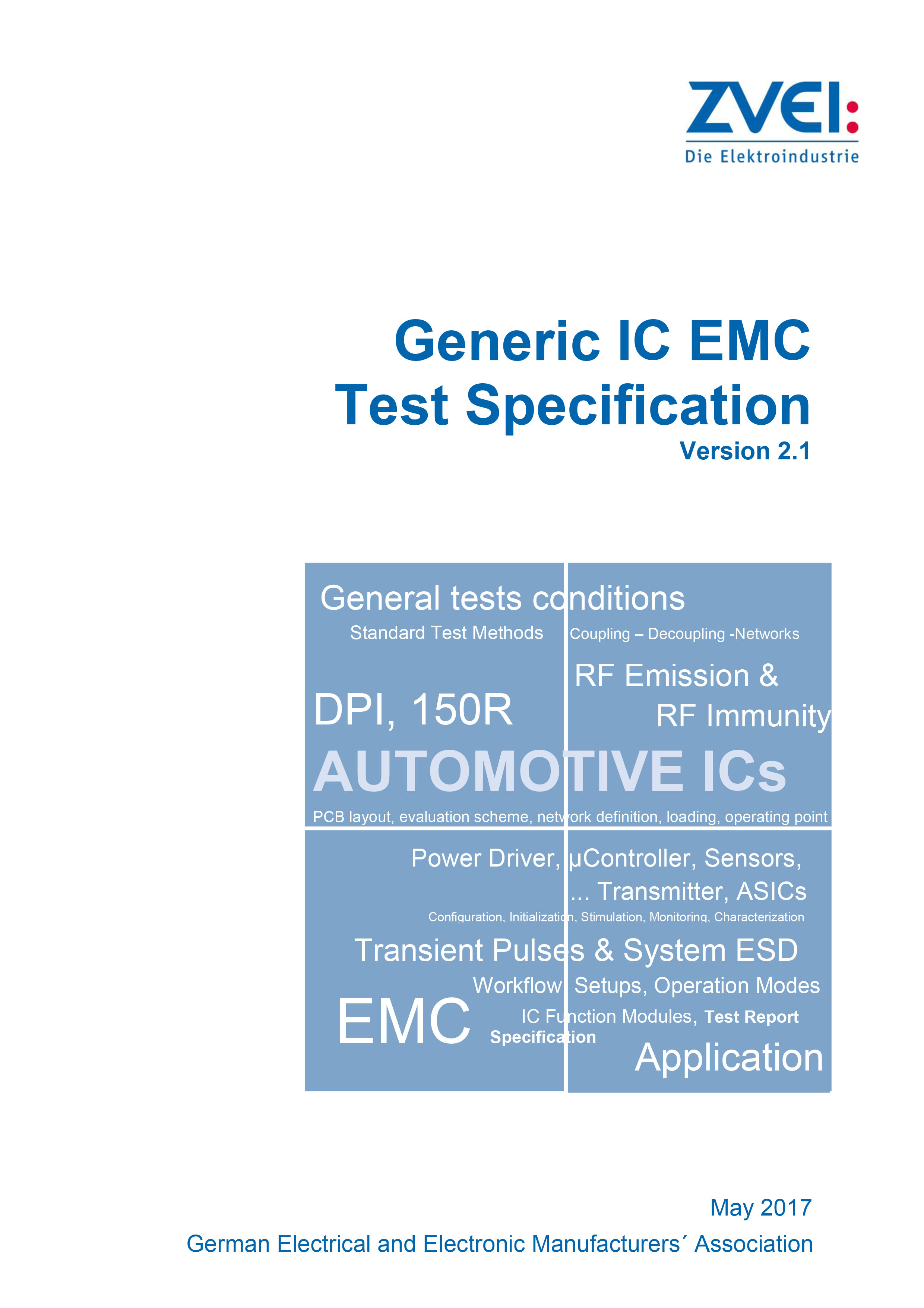 Guideline Generic IC EMC Test Specification Version 2.1 - zvei.org
