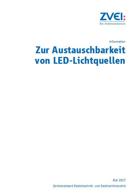 Information zur Austauschbarkeit von LED-Lichtquellen - zvei.org