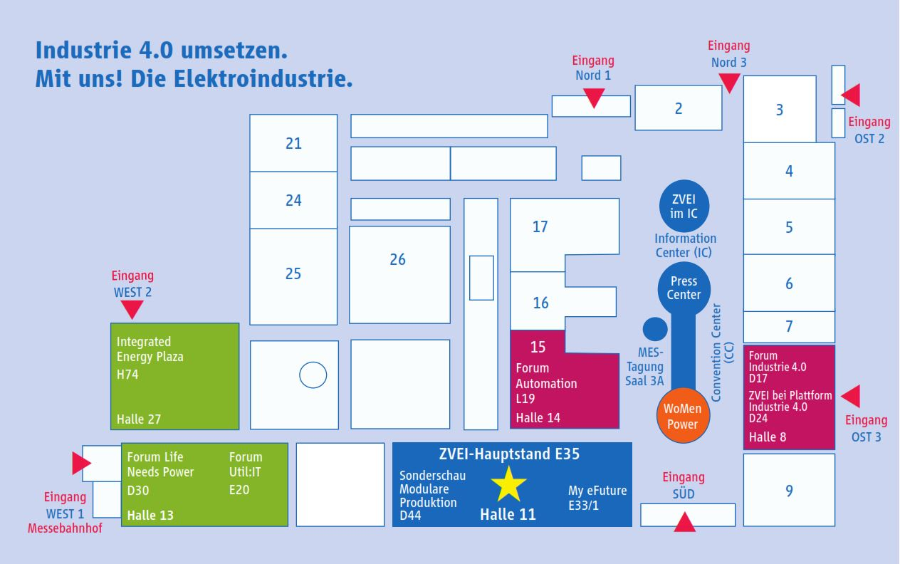 Messe hannover plan
