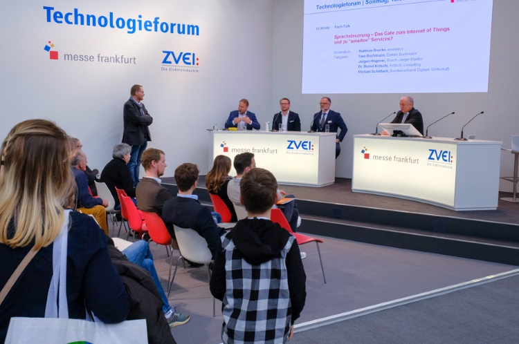 ZVEI-Technologieforum auf der Light+Building 2018