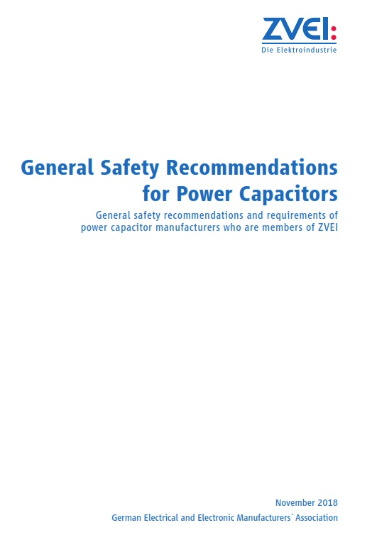 General Safety Recommendations For Power Capacitors Zvei Org